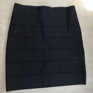 🖤 Bebe Black BodyCon Mini Skirt